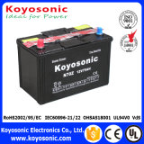 JIS estándar secan la batería de coche de plomo cargada N70zl 12V 75ah