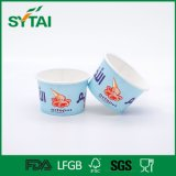 Cuvettes de papier remplaçables de crême glacée d'impression faite sur commande de logo