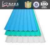 Нервюр-тип плитка цены крыши Corrugated цвета стальная