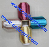 Silver puro Metallic Yarn con Cotton o Polyester o Viscose Rayon per il Marocco