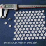 Hohe haltbare keramische Tonerde-sechseckige Fliese für industrielle Abnützung-Lösungen
