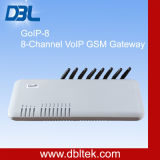 GoIP 8 8チャネルのVoIP GSMのゲートウェイ8 SIMのカードの無線VoIPターミナルサポートSMSサーバー