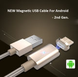 Android를 위한 Magnetic 새로운 Micor USB Charging와 Data Cable