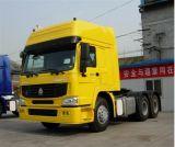 Sinotruk HOWO 대형 트럭 트랙터 트럭 헤드 콘테이너 트럭