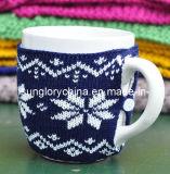 Kan de Aangepaste Gebreide Mok van de Koffie van het Ontwerp zijn