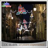 De DEL de rue de vacances de décoration lumière de Noël carrée à l'extérieur