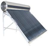 Calentador de agua solar del tubo de vacío de la presión inferior EN12976 (ALT)