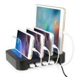 Desmontable Universal Multi 4 Puerto USB Charging Charger Dock Station