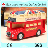 Rectángulo de moneda BRITÁNICO del regalo de la promoción del omnibus del estilo de la calle