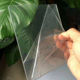 folha transparente do PVC da espessura de 1.5mm para a dobra fria