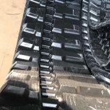 Trilha de borracha da máquina escavadora (400X75.5kx74) para a maquinaria de construção