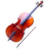 4/4 festes Holz-Cello und Cello-Teile