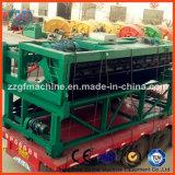 Grande máquina de Turner do adubo da placa Chain da profundidade
