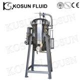 Filtre à haute pression de produit chimique de la température d'acier inoxydable