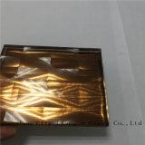 Rosafarbener Spiegel lamelliertes Floatglas/Sicherheitsglas des ausgeglichenen Glas-/für Dekoration