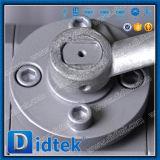 Тип 900 3PC Didtek анти- статический служил фланцем уменьшенный шариковый клапан Bore