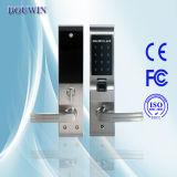 Cerradura de puerta biométrica de la huella con teclado