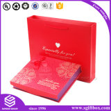 Jeu de empaquetage d'emballage de chocolat de sac de papier de cadre de cadeau