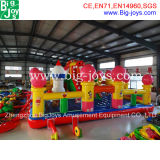 Giant Inflatable Fun City, dragon gonflable Bouncer Slide