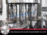 Máquina de enchimento líquida da embalagem do tijolo da caixa da bebida do vinho do suco