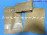Sacchetto composto di plastica dell'alimento della carta kraft