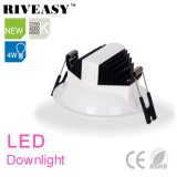 iluminación antideslumbrante LED Downlight de 4W LED LED