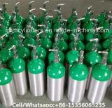 De draagbare Cilinder van de Ademhaling van de Zuurstof van het Aluminium met Regelgevers