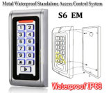 Telclado numérico impermeable del control de acceso para las puertas automáticas (S6C)