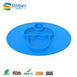 Bebê infantil de Placemat do silicone de uma peça só do produto comestível que alimenta Placemat