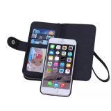 Apple iPhone와 Samsung를 위한 핸드백 지갑 상자