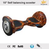 10 인치 2 바퀴 각자 균형을 잡는 스쿠터 각자 균형 동적인 편류