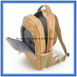 普及した若者デザイン工場OEM新しく物質的なDu Pontのペーパーバックパック袋、調節可能なベルトが付いている防水Tyvekのペーパー二重ショルダー・バッグ