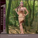 """Trajes indianos de Cosplay das mulheres """"sexy"""" da festa de Natal do carnaval de Halloween (TLQZ3023)"""