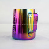 투수 커피 잔을 거품을 일으키는 스테인리스 Latte 예술 우유
