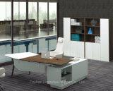 Nuevo escritorio curvado comercial moderno del encargado de la oficina conceptora (HF-BSA01)