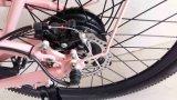 """26台の""""アルミニウムフレーム山の電気自転車、27の速度、北アメリカの市場のための中断フォーク"""