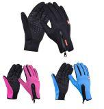 工場モーターバイクは手袋のタッチ画面の手袋を遊ばす