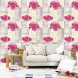 Pvc van van achtergrond TV van het Behang van de ontwerper Behang van de Muur het Decoratieve Materiële voor de Decoratie van het Huis