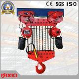 élévateur 50t à chaînes électrique avec le matériel de levage manuel de chariot