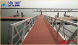 El más popular y la venta caliente galvanizado escalera de acero Barco Pasarela Made in China