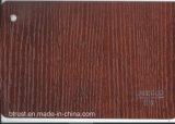 De houten Film/de Folie van pvc van de Korrel Decoratieve voor Pers Bgl073-078 van het Membraan van het Kabinet/van de Deur de Vacuüm