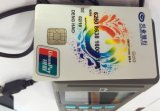 Algoritmo da almofada do Pin com leitor do smart card (Z90)