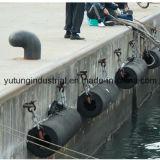 Defensas cilíndricas de goma para la nave marina muelle Uso
