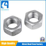 Noix Hex d'amorçage d'amende d'acier allié de noix Hex des produits DIN934 de dispositif de fixation de matériel