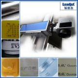 Промышленная фабрика принтера даты лазера волокна меты быстрой скорости деревянная стеклянная