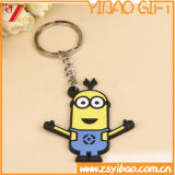 PVC Keychain/пластичное Keychain шаржа Customed способа