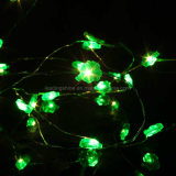 Batterie LED Operated Xmas Four Leaf Trèfles Chaîne Fée Party Lights Decoartions