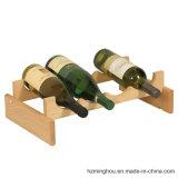 Crémaillère en bois de vin de pile pour la crémaillère de stockage en rayons d'étalage de vin