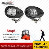 Nueva 8 Camión Offroad 18W LED de Luz de Trabajo SM6011-18