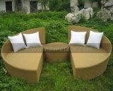 Daybed al aire libre del jardín de la rota Mtc-193 con el taburete